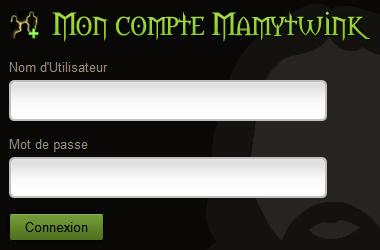 Connectez-vous à votre compte Mamytwink depuis le site