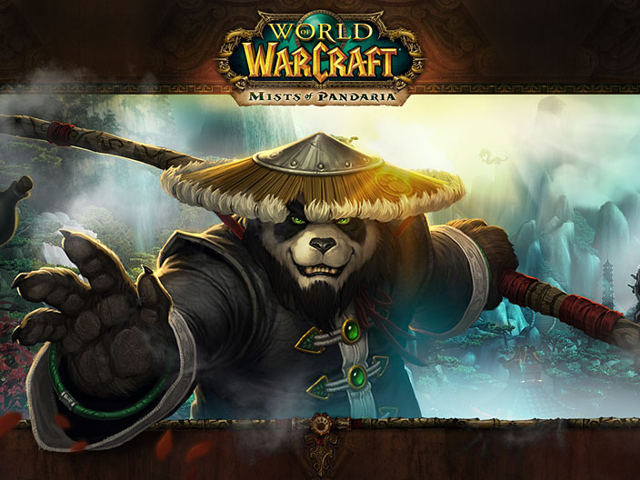 Le tout premier fond d'écran World of Warcraft : Mists of Pandaria