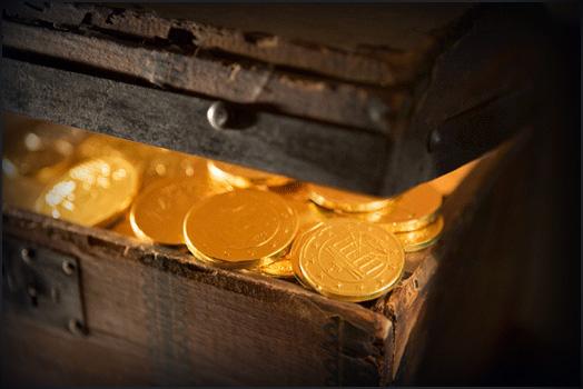 Les pièces d'or, indispensables à l'inutilité !