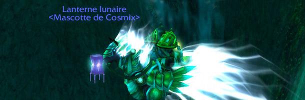 Cosmix a obtenu la Lanterne lunaire