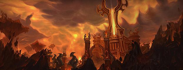 """""""Les Terres de feu"""" est un nouvelle zone de raid"""