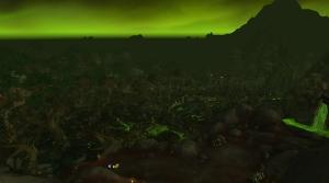 Image de jungle de tanaan trône de Kil jaeden