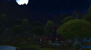 Image de nuit noire carmines