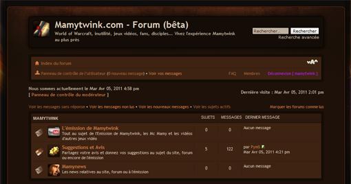 Découvrez le forum de Mamytwink, un lieu de joie et de paix