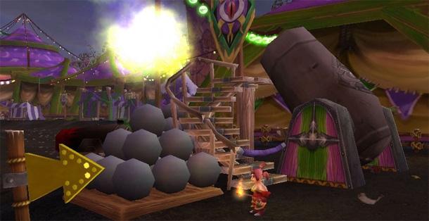 Accomplissez les 5 mini-jeux de la Foire de Sombrelune
