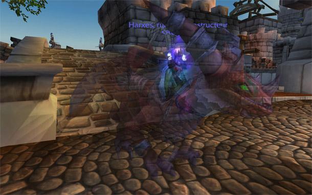 Les Rênes de drake flamboyant, la nouvelle monture d'Aile de mort