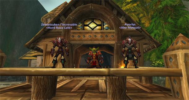 ToniozLeOuf , Zentetsuken et Ayorlys équipés de Vengeance et Terreur