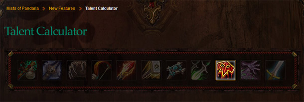 Blizzard a mis en ligne le calculateur de talents de Mists of Pandaria