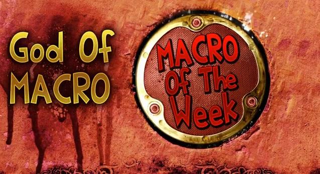 God of Macro donne conseils et astues au sujet des macros