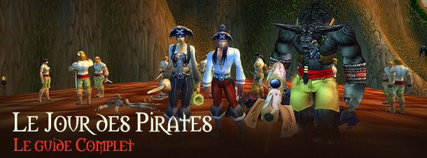 L'événement mondial le Jour des Pirates se déroule le 19 septembre