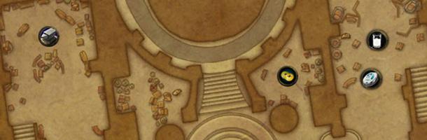 Plan détaillé Sanctuaire des Deux-lunes bas