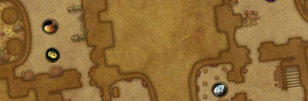 Plan détaillé Sanctuaire des Deux-lunes haut