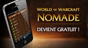 World of Warcraft nomade gratuit.