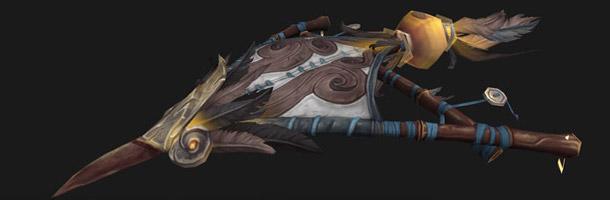 Un cerf-volant bleu pour l'Alliance.