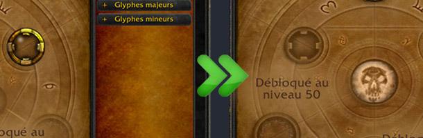 Au patch 5.0.4 seuls resteront les glyphes dits majeurs et mineurs