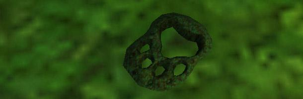 Cherchez ces traces dans la luxuriante forêt de Jade