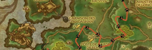 Visualisez le parcours de Rockhide