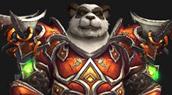 T14 Guerrier sur un Pandaren