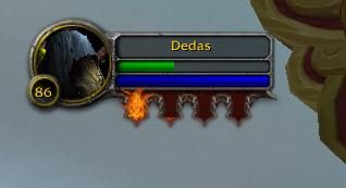 Les Braises brûlantes constituent la nouvelle ressources du Démoniste Destruction
