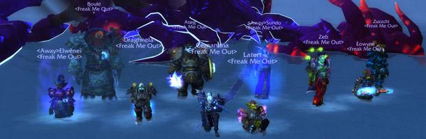 La guilde Freak me Out est la 9ème guilde mondiale à faire tomber le Sha de la Peur en 10HM