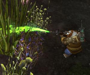 Traitement des mauvaises herbes