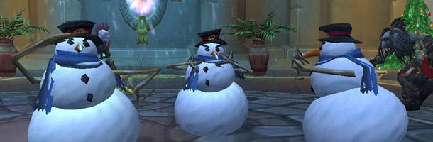 Le bonhomme de neige a une danse endiablée