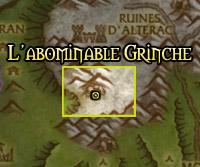 La localisation du Grinche