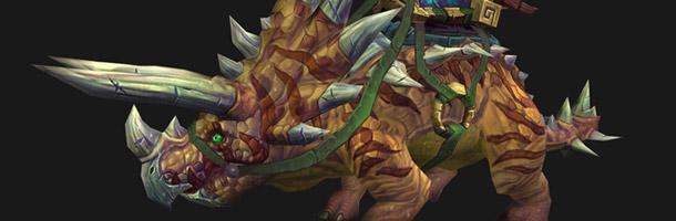 Le Tricéraptore sera une nouvelle monture terrestre