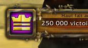 250 000 vh au niveau 1