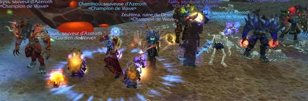 Wave est la première guilde à tuer Aile de mort HM sur Hyjal