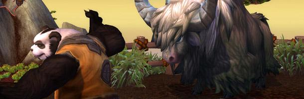 Le Yak : nouvelle monture dans Mists of Pandaria