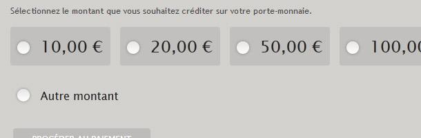 Ajoutez du crédit à votre porte-monnaie Battle.net