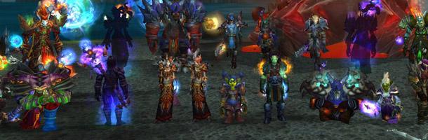 Wraith est la première guilde francophone à venir à bout de la Folie d'Aile de mort 25 HM