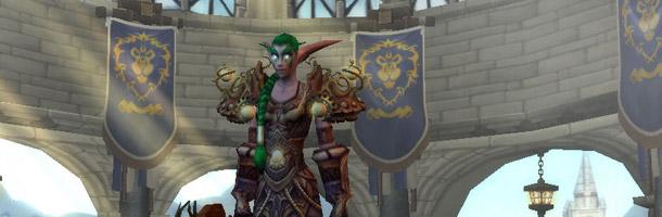 L'écran de création de personnages de l'alliance dispose d'un nouveau fond