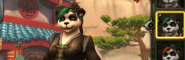 Personnalisez la mèche d'une Pandarène