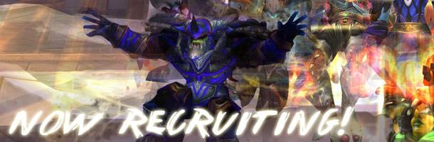 Wraith recrute pour Mists of Pandaria