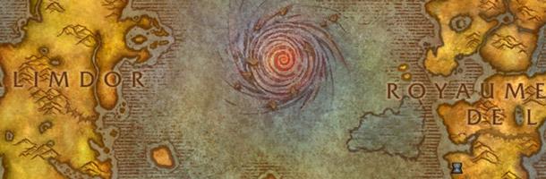 Carte d'Azeroth après le cataclysme