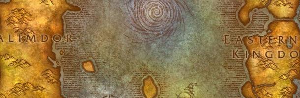 Carte d'Azeroth avant le cataclysme