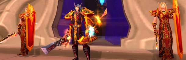 Paladin : transmogrification Champion Sin'dorei