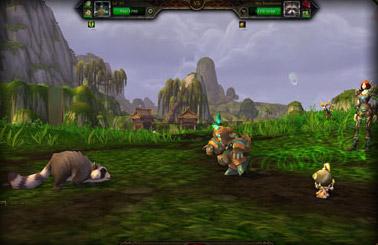 Combat des mascottes : interface de combat