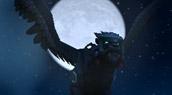 Aile-de-nuit obsidienne