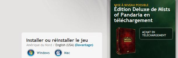 L'édition Deluxe de Mists of Pandaria bientôt disponible en téléchargement !