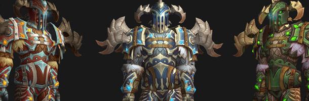 Mode défis : ensemble d'armures DK