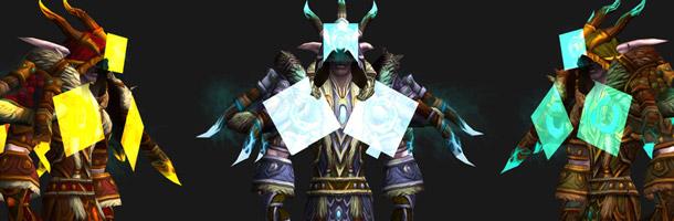 Mode défis : ensemble d'armures Druide