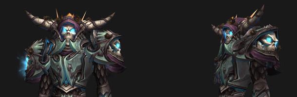 T14 Chevalier de la mort sur Elfe de sang (ensemble 1)