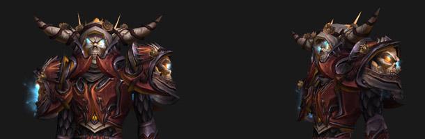 T14 Chevalier de la mort sur Elfe de sang (ensemble 3)