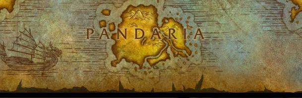 La Pandarie apparaît sur la carte du monde