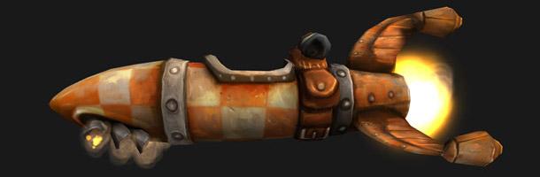 Nouvelle monture : la fusée