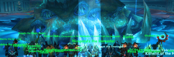 Wraith vs Yogg-Saron