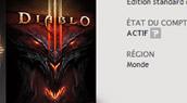 Les comptes Diablo 3 activés !